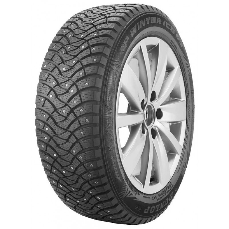 Автошина DUNLOP SP WINTER ICE 03 215/50 R17 95T шип Зима шипованая