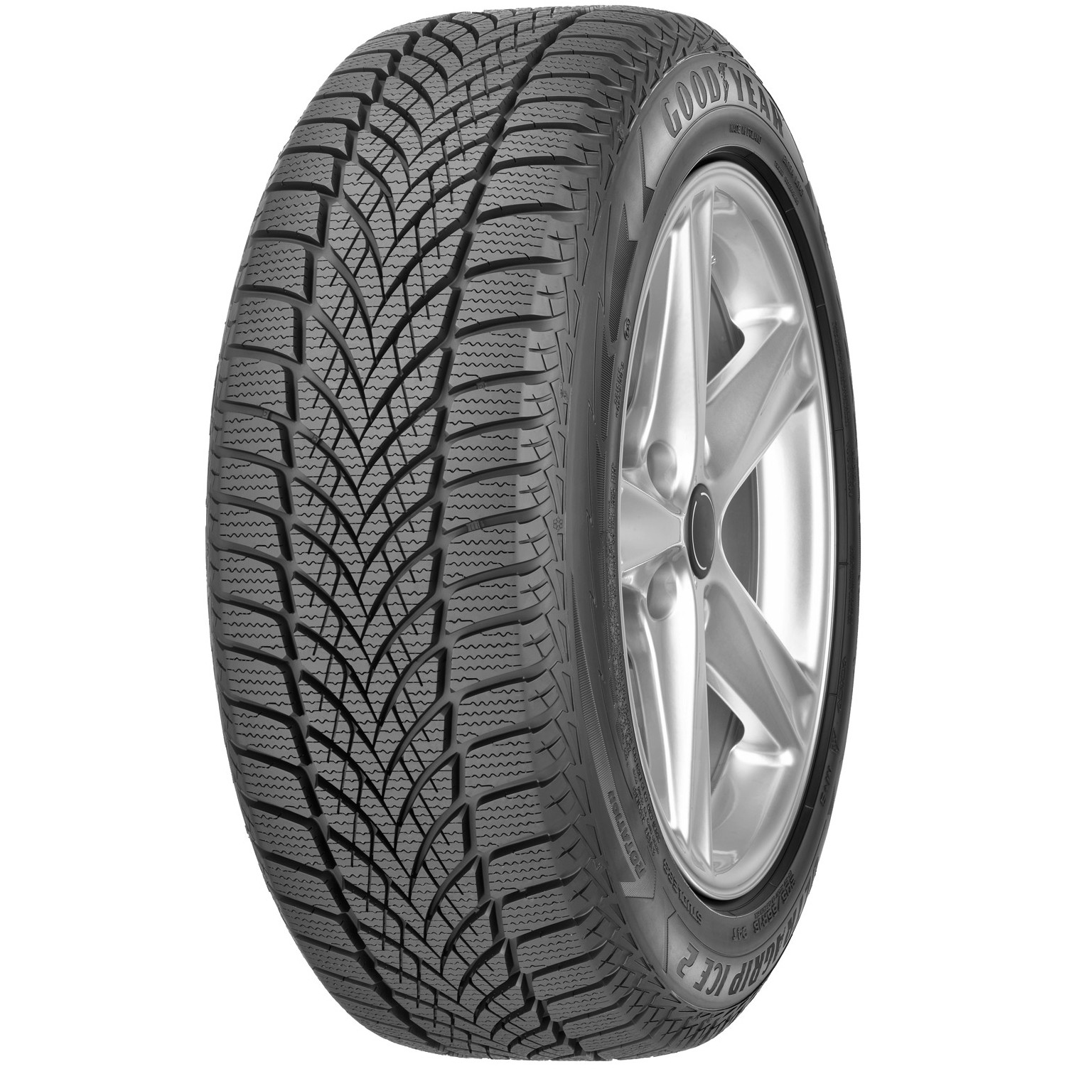 Автошина GOODYEAR ULTRAGRIP ICE 2 175/65 R14 86T Зима